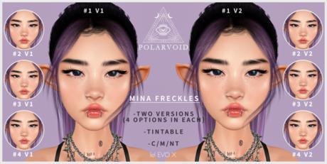 [POLARVOID] Mina Freckles - LelEvoX