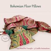 {CdB} Bohemian Floor Pillows