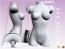 [MONA'S] BIANCA BAG (GRAY GLITTER)