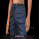 *CORDEWA* CALIFORNIA JEANS BLUE