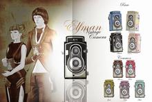 -ATTIC- Elfman Vintage Camera Pink