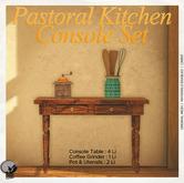 *PC* Pastoral Kitchen Console Set
