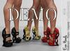 Demo Eva Heels Fatpack Colors - Maitreya, Belleza Freya, Legacy FashionNatic
