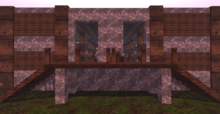 [MC] Chiseled Great Hall (wear to unpack)