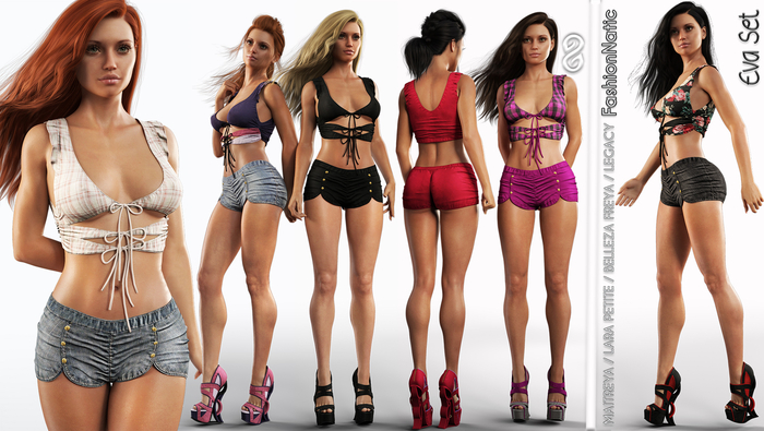 Eva Set - Fatpack All - Megapack - Maitreya Lara, Lara Petite, Belleza Freya, Legacy - FashionNatic