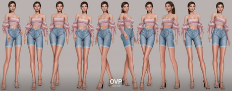 Overlow Poses - Pack 109