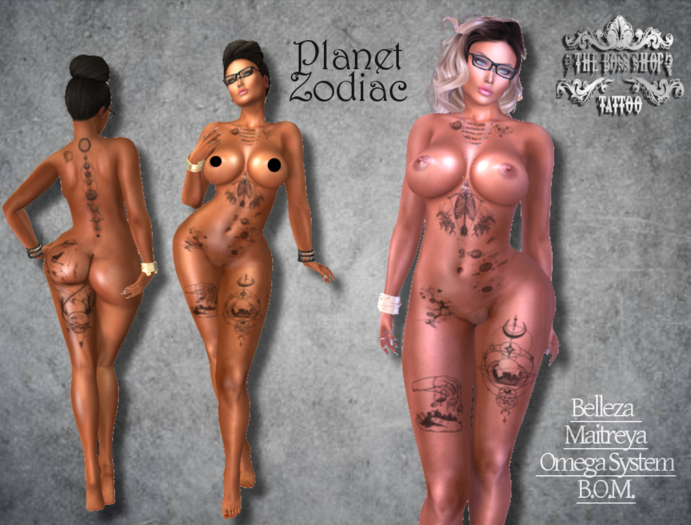 TSB ::: Tattoo planet zodiac