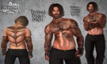 TSB ::: Tattoo Tribal Tiger Men