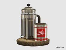 Apple Fall Advent Coffee Maker 2021