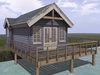 Dutchie Mesh Waterfront Cottage Loosdrecht Cornflower