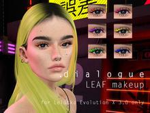 DIALOGUE Leaf eye makeup for Lelutka EvoX 3.0