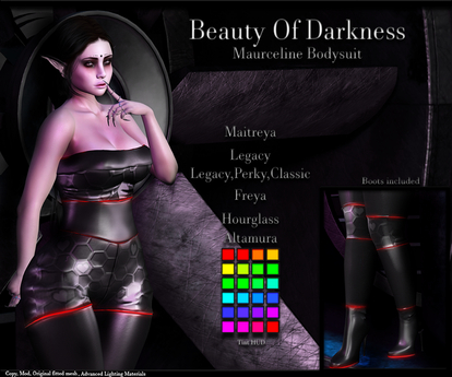 .:BoD:. Maurceline Bodysuit