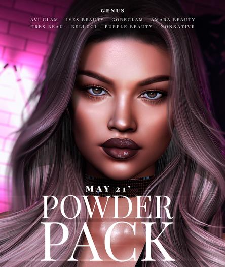 POWDER PACK MAY 21' (GENUS)