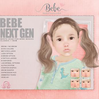 {Bebe} Next Gen Bento Head
