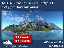 Alpine Ridge 1/4 Mega Surround 7.0