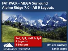 FAT PACK All Alpine Ridge Mega Surrounds 7.0