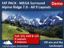 [DEMO] FAT PACK All Alpine Ridge Mega Surrounds 7.0