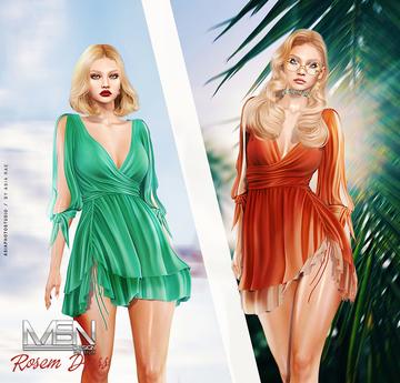 [MSN Design] Rosem Dress [FATPACK]