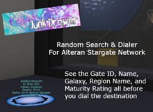 Alteran Stargate Network (ASN) Random Search & Dialer