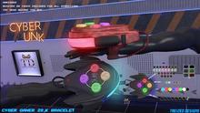 """""""TD"""" Cyber gamer 20.K Bracelet  [FATPACK] (Resizable)"""
