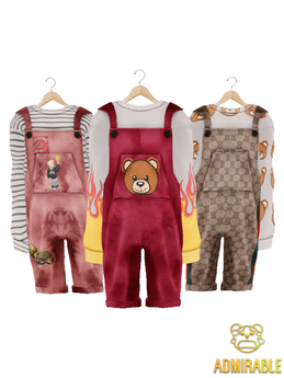 Admirable- Loose Overalls (Fatpack)