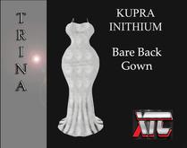 XTC Trina Bare Back Gown KUPRA Silver