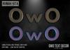 Rumah Kita - OwO Wall Text Decor Pack