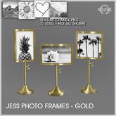 Sequel - Jess Photo Frames - Gold