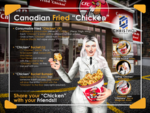 """Canadian Fried """"Chicken"""" - [Chris Two Designs]"""