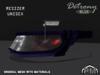 :PM: Cyberpunk Glasses Detrony - Blue