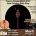 Freya's Finest MESH FTC Gem Pendant Belly Ring