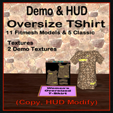Demo-Women's Oversize T-shirt, BOX