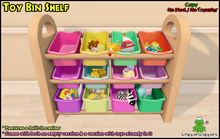 ! Whippersnappers ! - Toy Bins Shelf