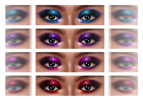 Beaumore 'Disco Diva Eyeshadow' FATPACK for Genus & LeLu EVO