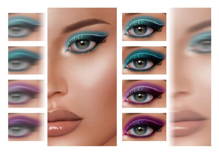 Beaumore 'Sawayama Eyeshadow' FATPACK for Lelutka EVO