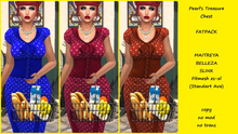 PTC - Carmen Retro Dress - FATPACK Dots  (box)
