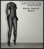 !APHORISM! - Maria Jumpsuit Black