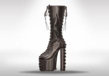 Veilance: Candy Platform Boots - Noir