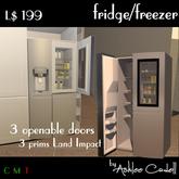 [Ashlee Cadell] Fridge/Freezer v1.0