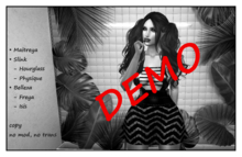 5 Min DEMO !!!  - PTC - Adele Dress (black Lace)