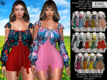 Bens Boutique - Enid Top & Skirt - MEGA HUD driven