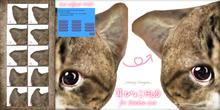 .:.H/D.:. Mimi-Pyoko HUD for Dinkie cat [21ESC1]