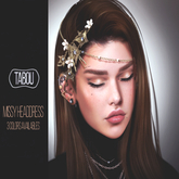 TABOU. Missy headdress - Gold (ADD!)