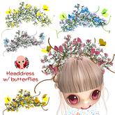 CHIBIT - Headdress Butterfly
