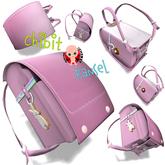 CHIBIT - Japanese, Backpack Ransel pink