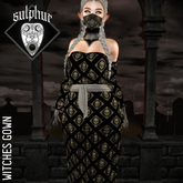 +SULPHUR+ WITCHES GOWN ^SKULLS^