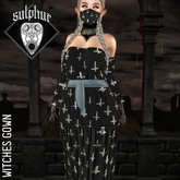 +SULPHUR+ WITCHES GOWN ^CROSSES^