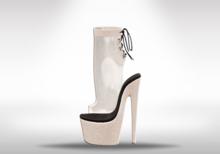 Veilance: Glamour Platform Heels - Noir