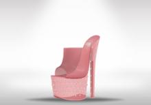 Veilance: Diamond Platform Heels - Pink
