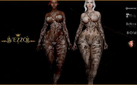 Sevilla Tattoo - Coloured, Fatpack, Maitreya, Legacy, INTHIUM KUPRA, Belleza, Signature, Omega, BOM - Vezzo Ink